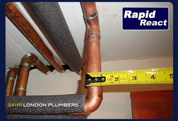 rapid react boiler installation in London and Greater London